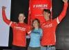 Pedro Burns fue presentado como miembro de Trek Factory Racing