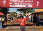 Feña Castro cuarta en el Trans Itapua Bike en Paraguay