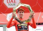 Primoz Roglic es el ganador del Tour de los Emiratos Arabes