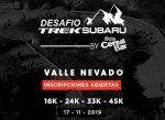 Inscripciones abiertas para el Desafío Trek Subaru 2019