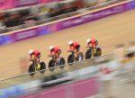 Bronce en Persecución por Equipos masculino para Chile en los JJPP Lima 2019