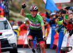 Pogacar se luce en la 20ª etapa de la Vuelta a España y Roglic acaricia el título