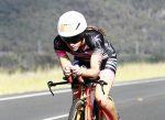 Entrenamiento de ciclismo con medidor de potencia