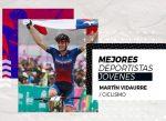Martín Vidaurre galardonado como mejor ciclista joven del año por el Comité Olímpico chileno