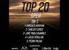 Gonzalo Aravena ganó el 1er Top 20 Open de Hombres