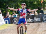 Martín Vidaurre 3ero sub 23 en el Proffix Swiss Bike Cup 2020