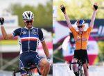 Julian Alaphillipe y Anna van der Breggen son los campeones mundiales de ruta