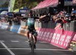 Peter Sagan logró su primer triunfo de etapa en el Giro d'Italia