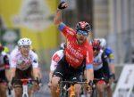 Victorioso Sonny Colbrelli en la 2ª etapa del Tour de Romandía 2021