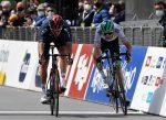 Gianni Moscon gana su segunda etapa en el Tour de los Alpes y Simon Yates sigue líder