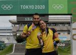 Colombia ganó dos medallas olímpicas en BMX Racing