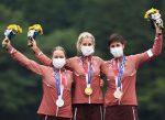 Suiza hace historia en Tokio: ¡Se llevó un podio completo en el MTB XCO femenino!