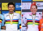 Ganna y van Dijk son los campeones mundiales contrarreloj