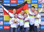 Alemania gana la contrarreloj mixta por equipos en mundial Flanders 2021