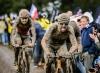 Lluvia, barro e infierno en la París-Roubaix con presencia chilena